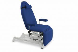 Elektrisk prøvetagningsstol - 2 motorer, Justerbare armlæn (højde/rotation)