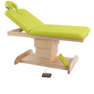 Elektrisk briks / massagebord - 2 dele med træbase
