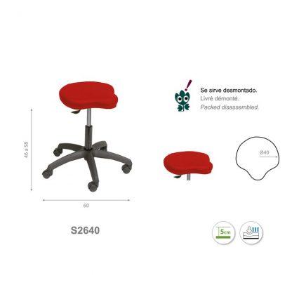 Triform stol
