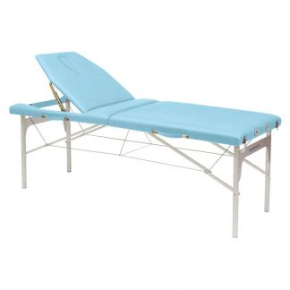 Massagebord i let aluminium - Justerbar højde