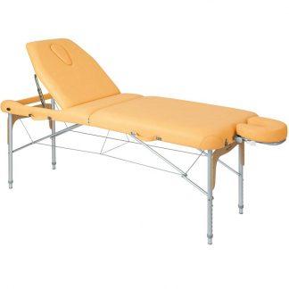 Foldbar massagebord (Aluminium) - 2 dele - 186x70 cm
