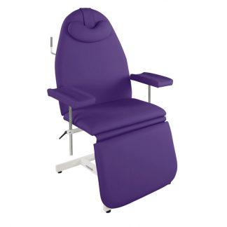 Stationær prøvetagningsstol med justerbare armlæn