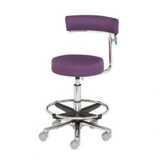 Kirurgisk stol med Fodstøtte og Justerbare armlæn