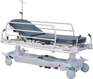 Hydraulisk patient- og traumavogn - 2 dele - Adskillige funktioner