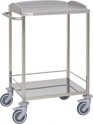 Multifunktionel hospitalsvogn - 2 hylder
