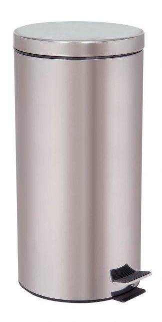 Affaldsspand med fodpedal - 30 Liter - Rustfrit stål