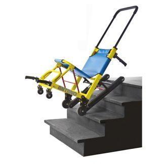 Sadelstol I elegant design med forkromet ramme