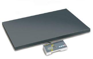 Industrivægt - Kan bruges med batterier - Max 300 kg