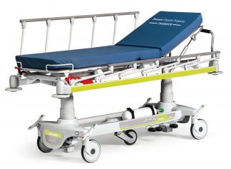 Multifunktionel patientvogn til akut pleje