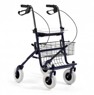Gangstativ lavet af stål med 4 hjul