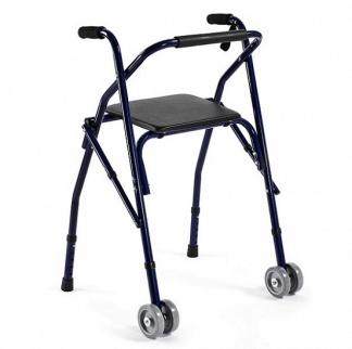 Gangstativ lavet af aluminium med 2 hjul