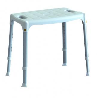 Brusestol med et fladt siddeområde
