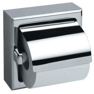 Toiletpapirholder i rustfrit stål (AISI 304) - Model 3
