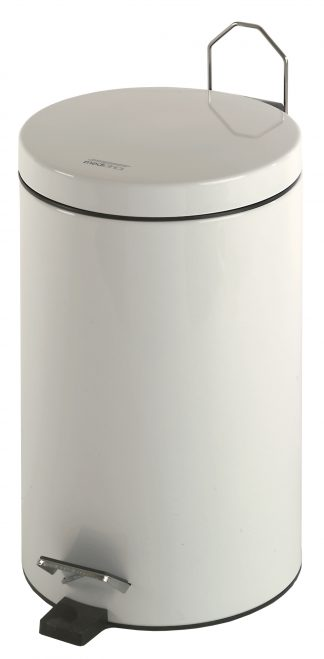 Cylinderformet affaldsspand med pedal - 5 Liter