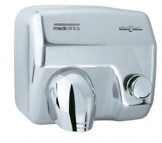 Saniflow® - Håndtørrer med knap - 245x276x214 mm