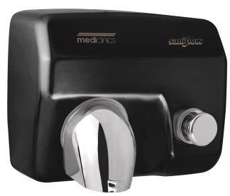 Saniflow® - Håndtørrer med knap - 248x278x212 mm