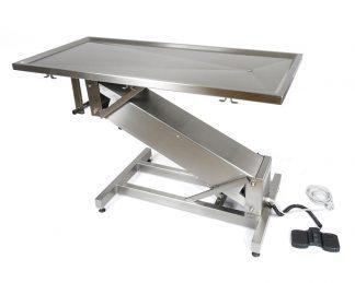 Elektrisk operationsbord til dyrlæger - Z-formet