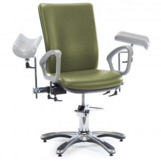 Flebotomi stol (Dobbelt armlæn)