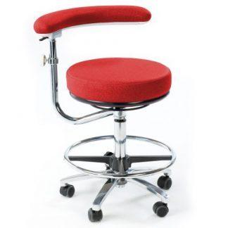 Multifunktionel stol med 360° sving arm (høj)