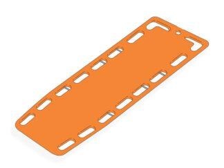 Rygmarvsplade med stifter - orange