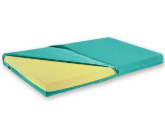 Hnf madras med betræk 195x85x14 cm