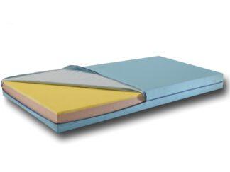 Amylife madras med betræk 195x85x14 cm