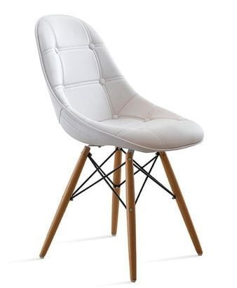Elegant og ergonomisk stol