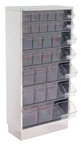 Vægmonteret opbevaringsskab - 65x25x128 cm
