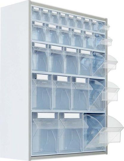 Vægmonteret opbevaringsskab - 65x20x80 cm
