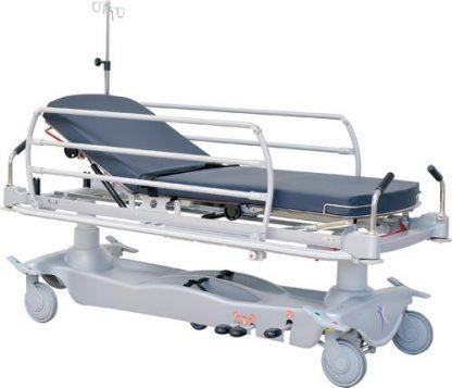 Hydraulisk patient- og traumavogn - 2 sektioner - Adskillige funktioner