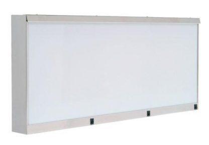 Skab - 110x10x48 cm - 3 fluorescerende lys