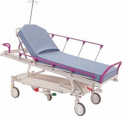 Hydraulisk patient- og traumavogn - 2 sektioner