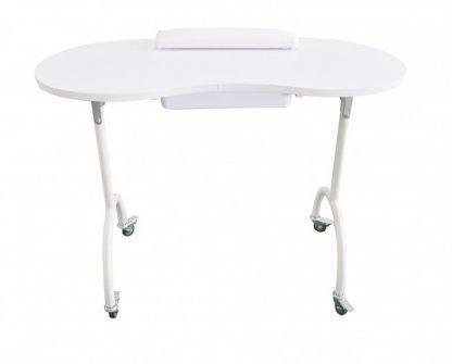 Foldbar manicurebord Udstyret med en skuffe