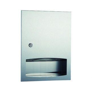 Dispenser til C / Z foldet toiletpapir - til integrering