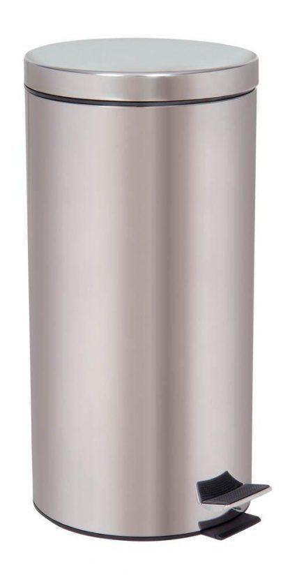 Affaldsspand med fodpedal - 30 Liter - Rustfri stål