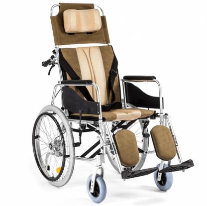 Foldbar kørestol lavet af aluminium - For folk med neurologisk sygdom
