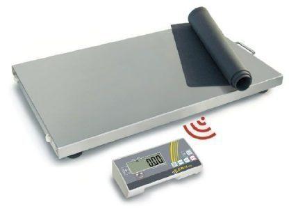 Industrivægt med trådløs display - Kan bruges med batterier - Max 300 kg