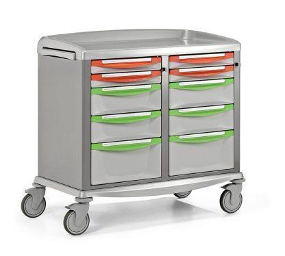 Nødvogn - ekstra bred - Egnet til opbevaring og transport