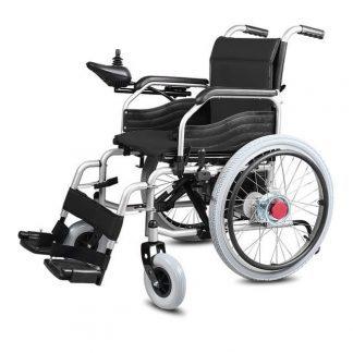 Elektrisk kørestol A3 - Foldbar - Kan køres manuelt
