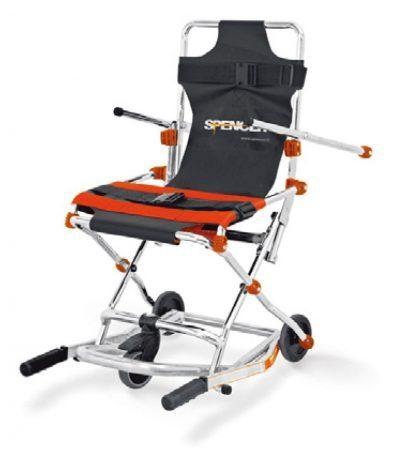 Evakueringsstol med 3 hjul til transport - Kompakt og foldbar