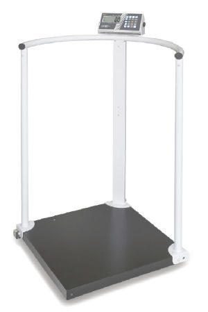 Vægt med håndskinner og hjul - Klasse III - BMI funktion - Max 300 kg