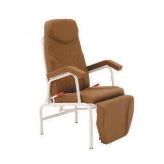 Stationær prøveudtagningsstol med armlæn - Synkroniseret justering af ryglæn/benstøtter