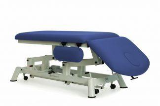 Hydraulisk behandlingsbord - 2 sektioner - Negativ justering af ryglæn