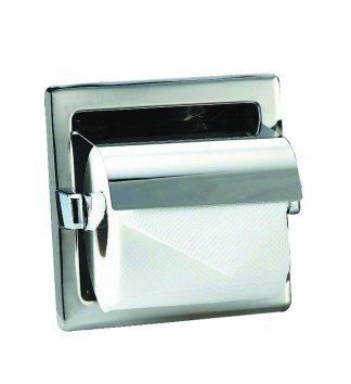Toiletpapirholder I rustfri stål (AISI 304) - 160 x 160 x 120 mm