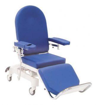 Elektrisk dialysestol med hjul - 3 sektioner