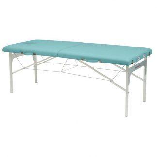 Foldbar massagebord - Aluminium ramme - 2 sektioner - 182x70 cm