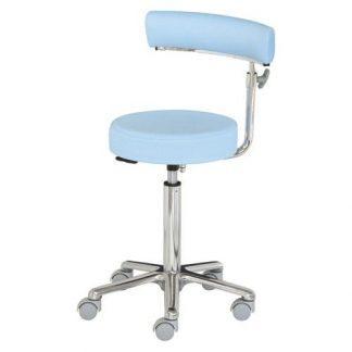 Kirurgisk stol med Justerbare armlæn - Aluminium base