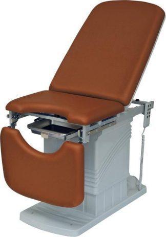Elektrisk gynækologisk eksamineringsstol