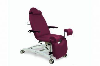 Elektrisk gynækologisk eksamineringsstol med 3 motorer og Trendelenburg - hjul