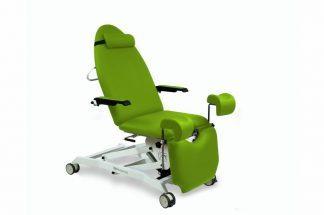 Elektrisk gynækologisk eksamineringsstol med armlæn og 2 motorer og Trendelenburg